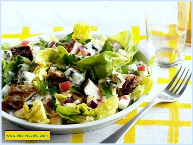 салат с мининой фоторецепт